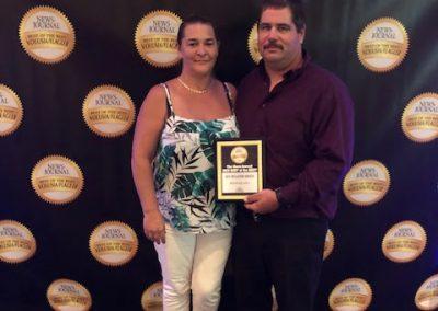 jon morin wins an award